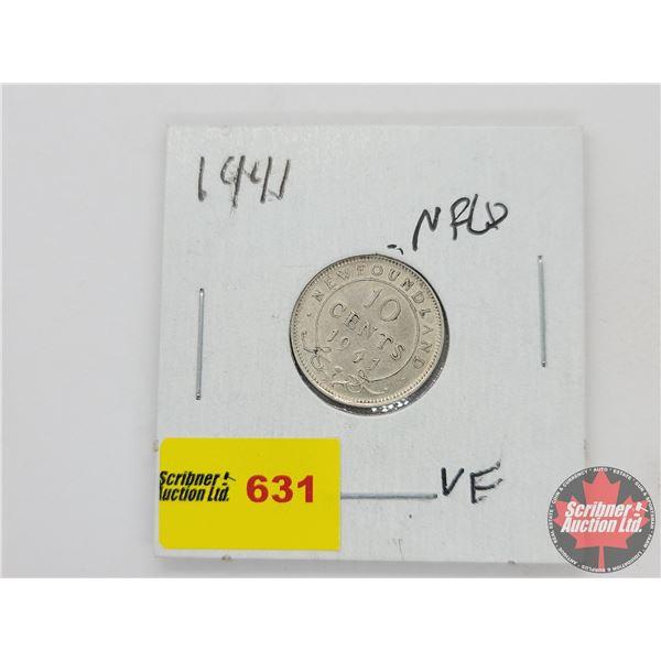 Newfoundland Ten Cent 1941