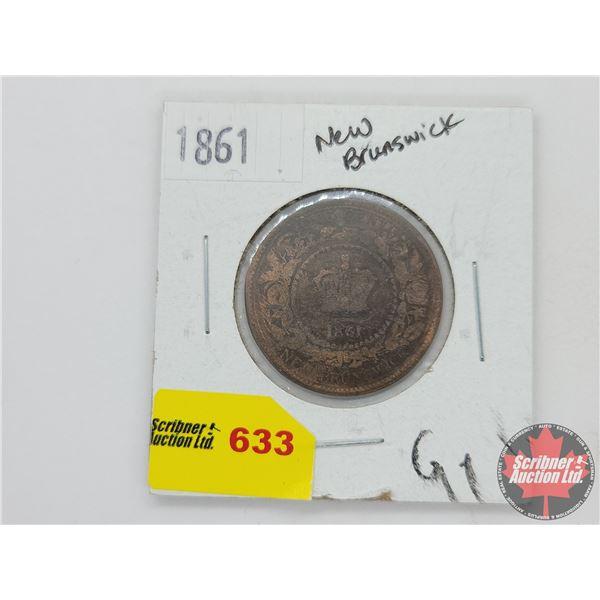 New Brunswick Large Cent 1861