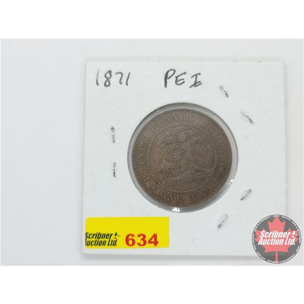 PEI Large Cent 1871