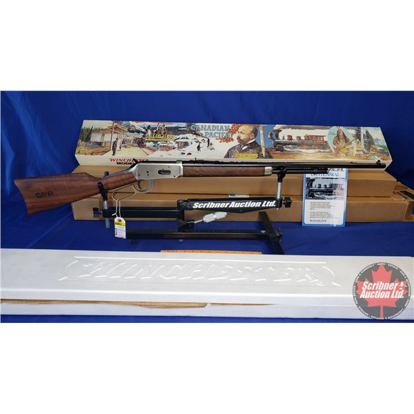 RIFLE ~ Estate Lot: Winchester 94 Canadian Pacific Centennial 32 Win Lever w/Saddle Ring (Never Fire