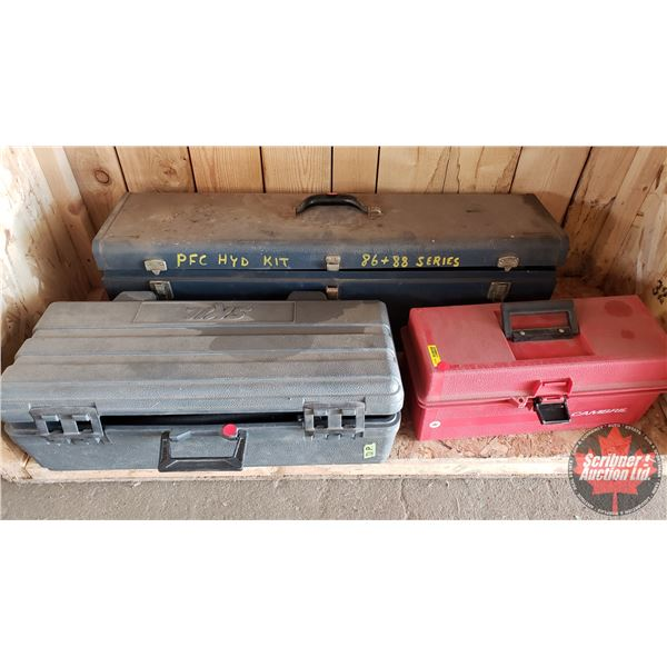 Estate Lot ~ Tools: Hydraulic Testing Kits (3) (See Pics!)
