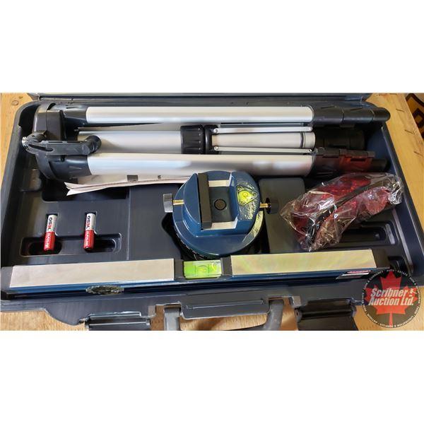 Estate Lot ~ Tools: Mastercraft Laser Level with Tripod (See Pics!)