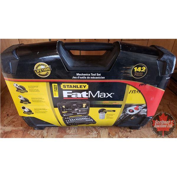 Estate Lot ~ Tools: Stanley 142pc Mechanics Tool Set (New In Box) (See Pics!)