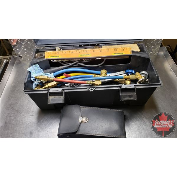 Estate Lot ~ Tools: Air Conditioning Service Kit with 5500 Micropump Automatic Halogen Leak Detector