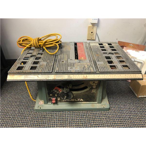 Delta portable table saw