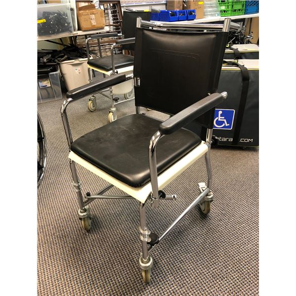 Medical assist commode chair