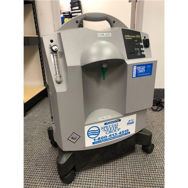 Millennium M10 Respironics oxygen concentrator - CPAP