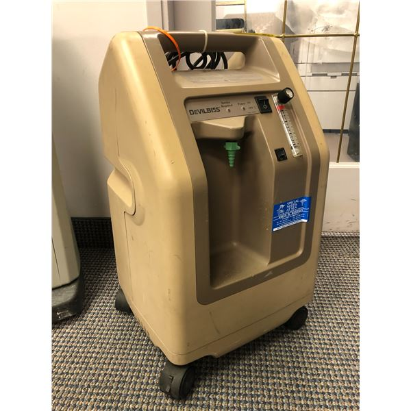 DeVilbiss 3 litre oxygen concentrator