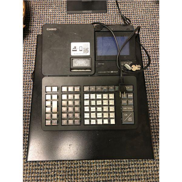 Casio PCR-T540 cash register w/ keys