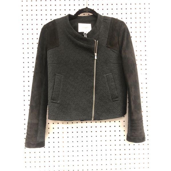 Maje ladies black jacket size 38 - retail value $980