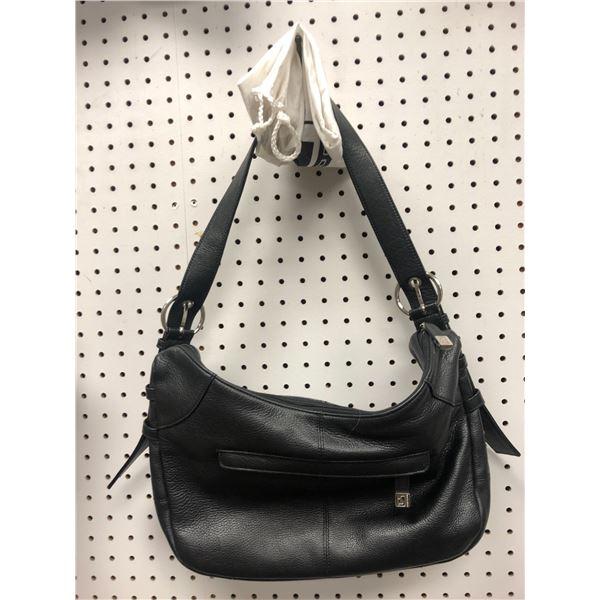 Soprano Made in Italy ladies designer hand bag black