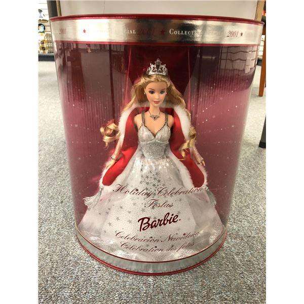 Holiday Celebration Barbie Special 2001 Edition w/ original box