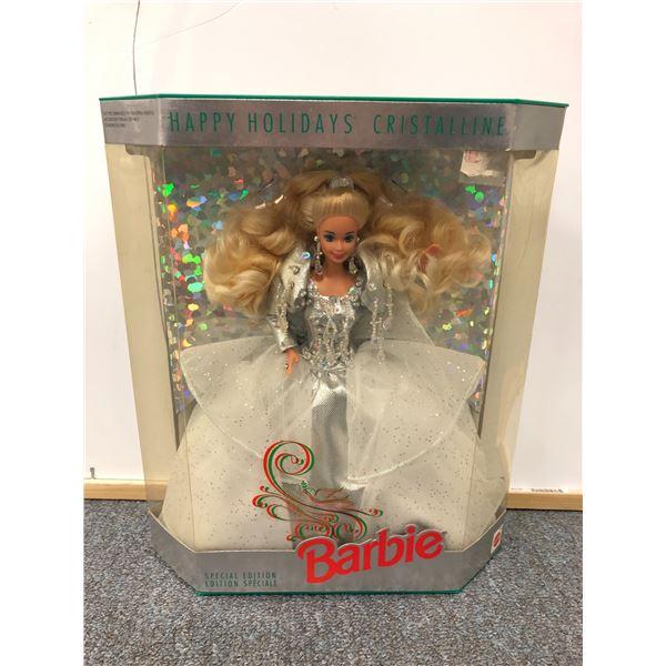 Barbie Happy Holidays Cristalline Special Edition in original box