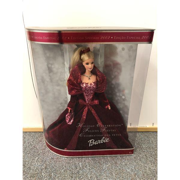 Holiday Celebration Barbie Special Edition 2002 in original box