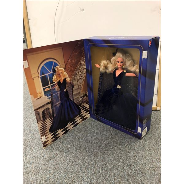 Sapphire Dream Barbie first in a series society style collection limited edition in original box