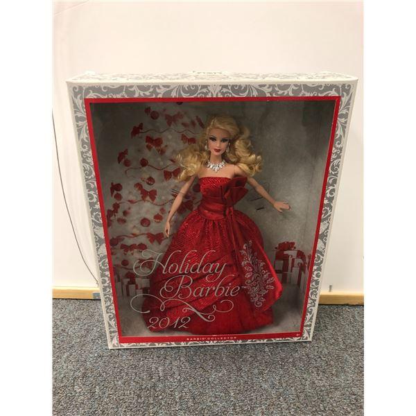 2012 Holiday Barbie in original box