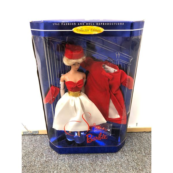 Barbie 1962 Fashion and Doll Reproductions Collector Edition Silken Flame Barbie in original box