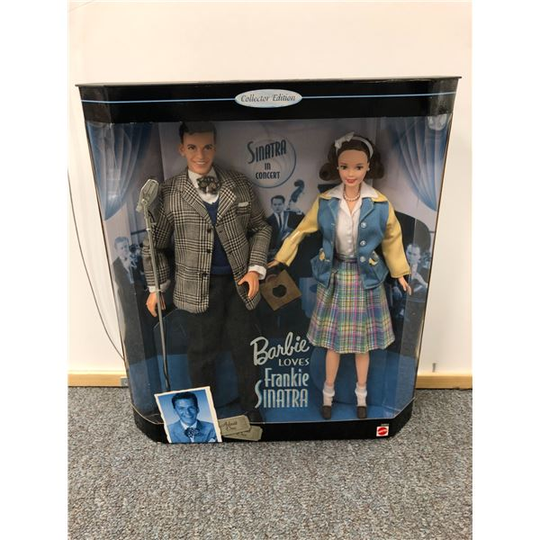 Barbie Loves Frankie Sinatra gift set Collector Edition in original box