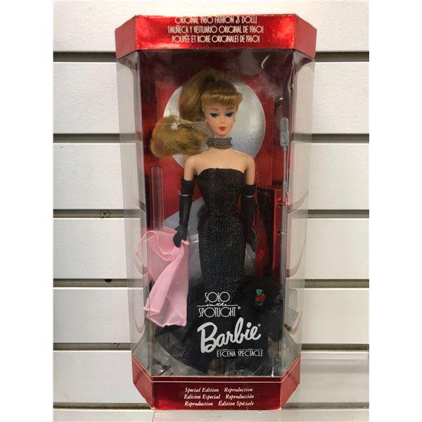 Solo in the Spotlight Barbie original 1960 Fashion & Doll Special Edition Reproduction in original b
