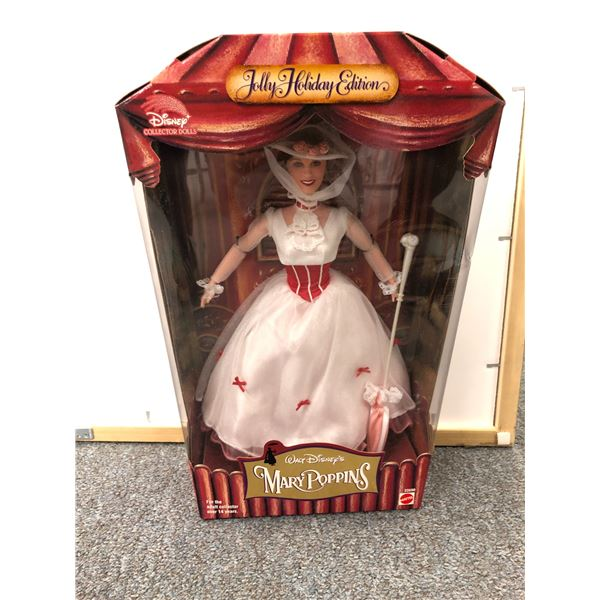 Walt Disney's Mary Poppins Jolly Holiday Edition Collectors' Doll in original box