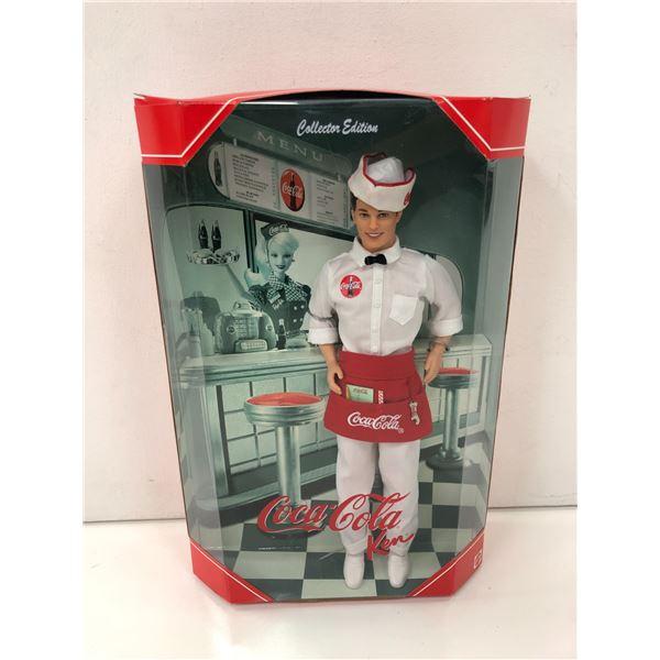 Collectors' Edition Coca Cola Ken Doll in original box