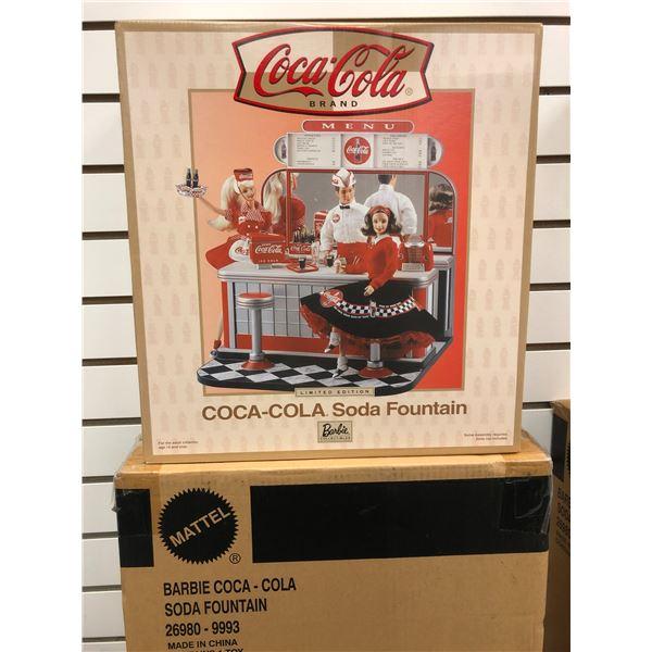 Coca Cola Barbie soda fountain (new in box)
