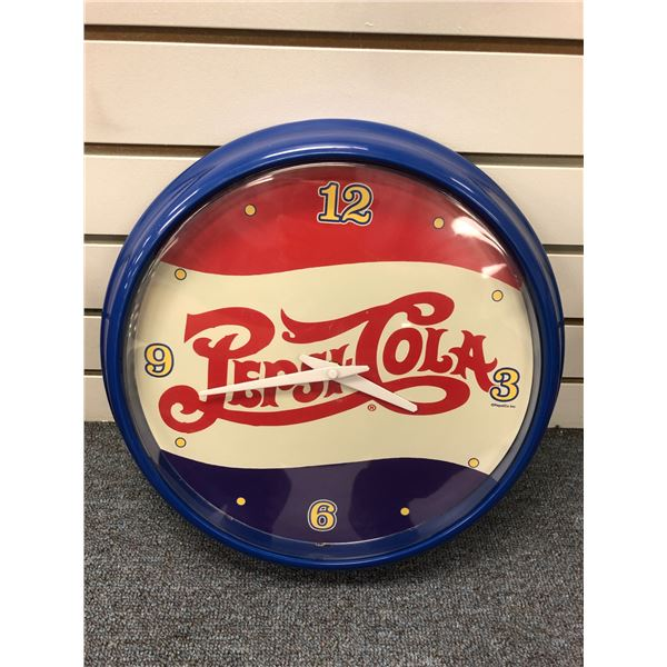 Pepsi-Cola battery powered wall clock