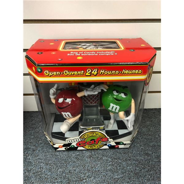 M&M's Rock'n Roll Café jukebox candy dispenser