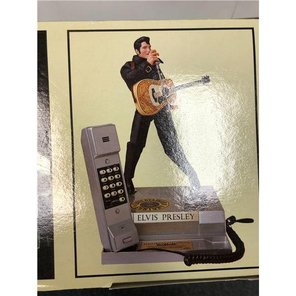 Elvis Presley singing & dancing telephone