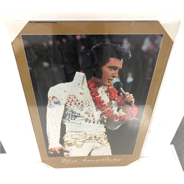 Elvis Presley print on board - 24in x 36in