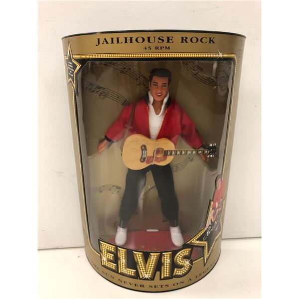 Elvis Presley Jailhouse Rock 45 RPM collectors' doll in original box - specifically numbered collect