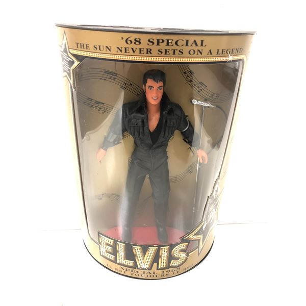 """Elvis Presley """" '68 Special """" collectors' doll in original box - specifically numbered collectors' e"""