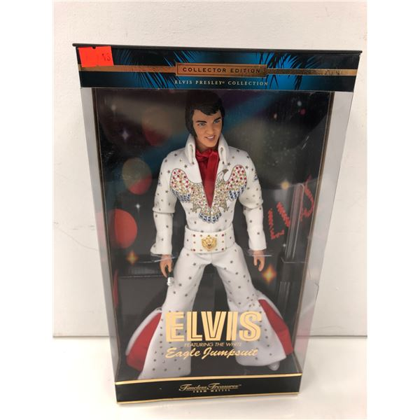 Elvis Presley featuring the white Eagle Jumpsuit collectors' edition doll in original box