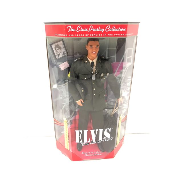 Elvis Presley The Army Years collectors' doll in original box - second in a series Classic Edition