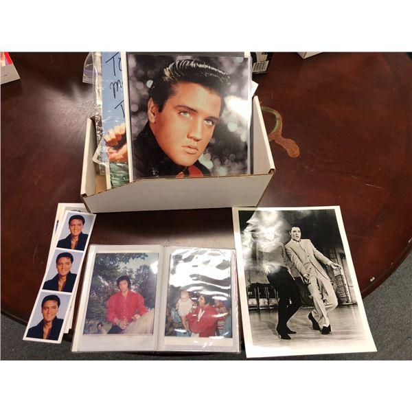 Large group of assorted Elvis Presley photographs