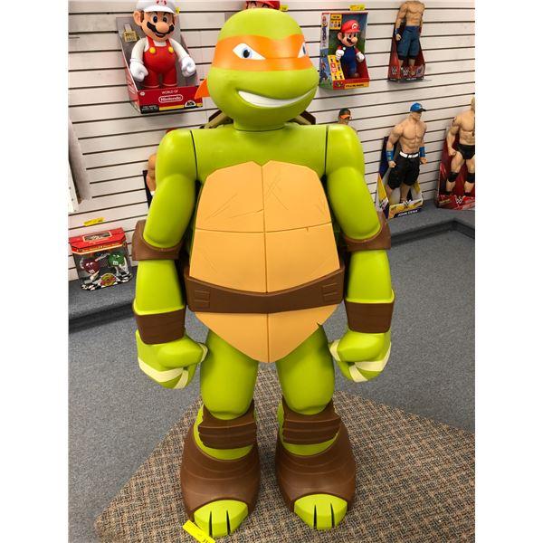 4ft Teenage Mutant Ninja Turtle collectors' toy