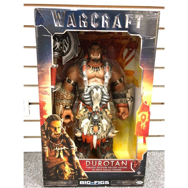 Limited Edition Warcraft Durotan 18in action figure in original box