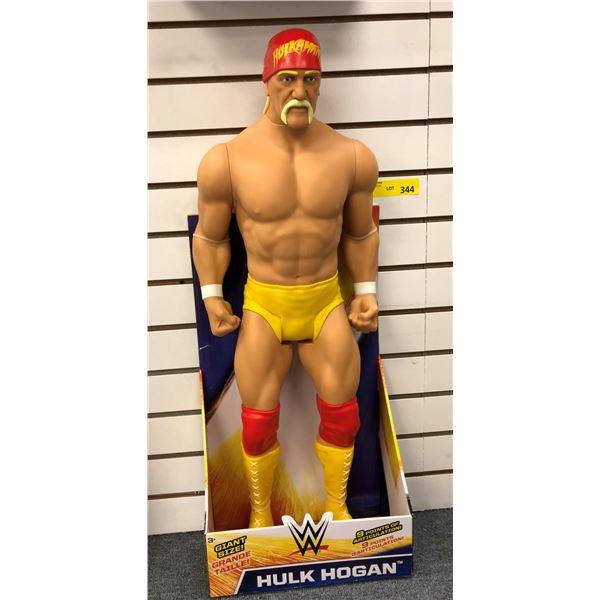 World Wrestling giant size Hulk Hogan action figure - 31in tall in original box