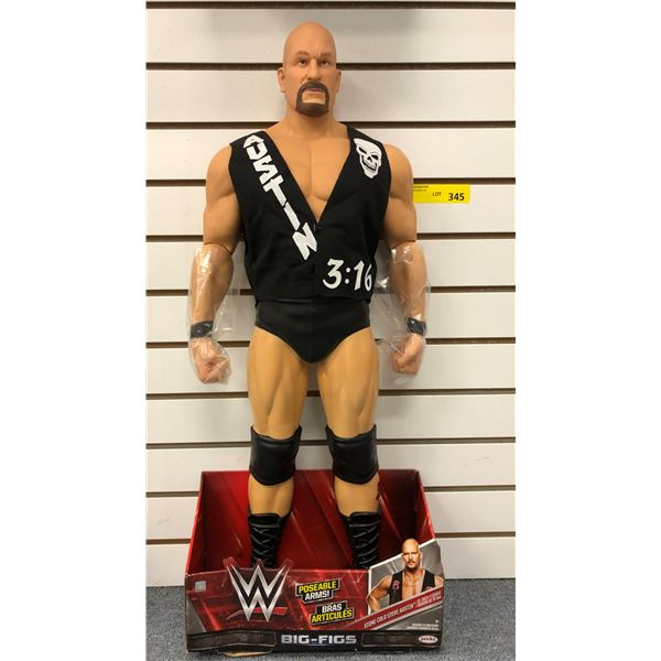 World Wrestling giant size Stone Cold Steve Austin action figure - 31in in original box