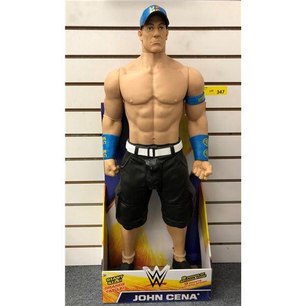 World Wrestling giant size John Cena action figure - 31in in original box