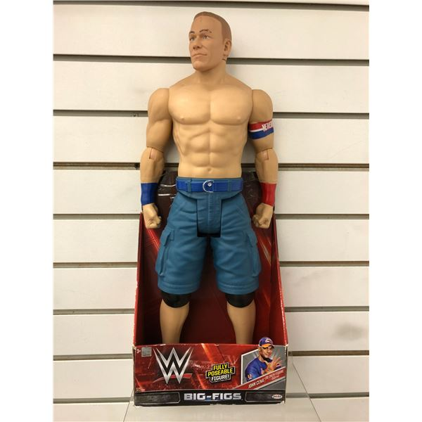 WWE John Cena 20in action figure in original box
