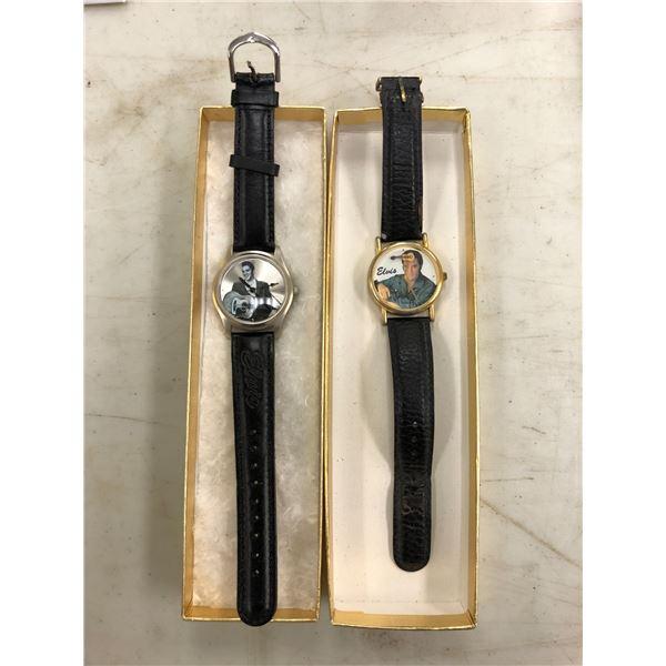 Two Elvis Presley wrist watches