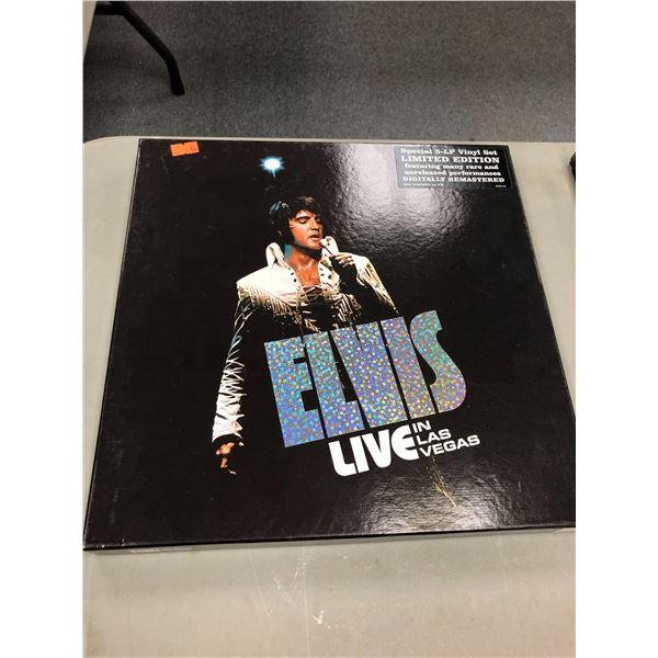 Special 5-LP Vinyl Set limited edition Live in Las Vegas set