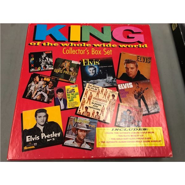 Elvis Presley King of the whole wide world collector's compact disk box set