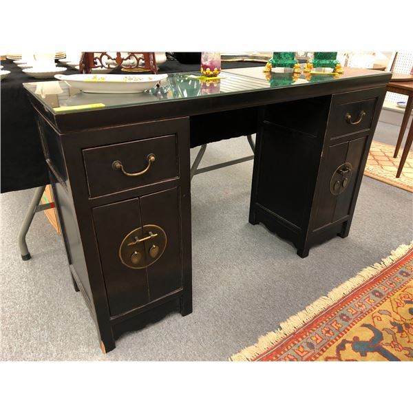 Antique crafted in Asia writing desk
