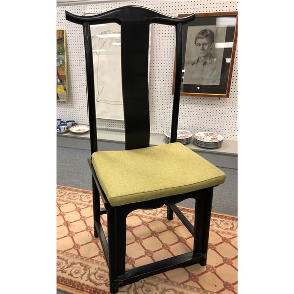 Antique crafted in Asia high back chair