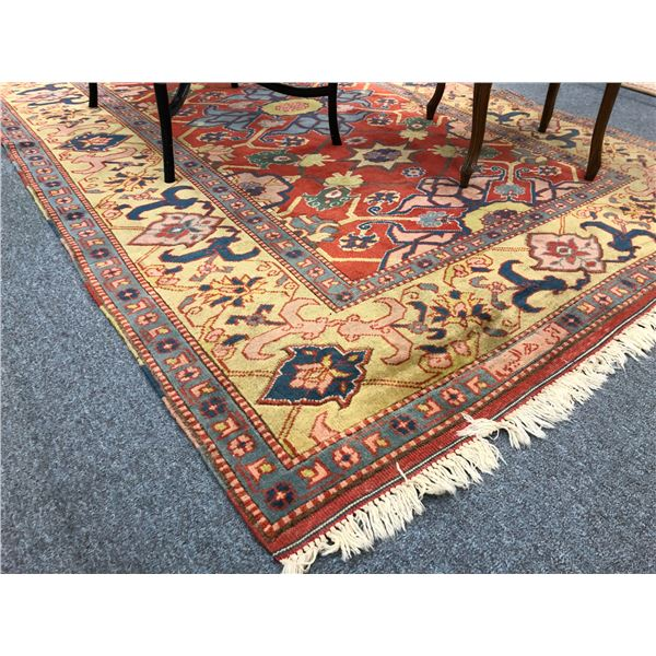Approx. 6ft x 9ft hand knotted Persian area rug Made in Turkey