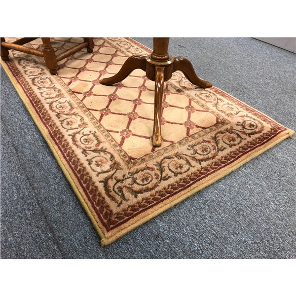 Approx. 2 1/2ft x 10ft wool area rug runner
