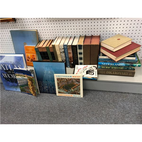 Group of assorted books