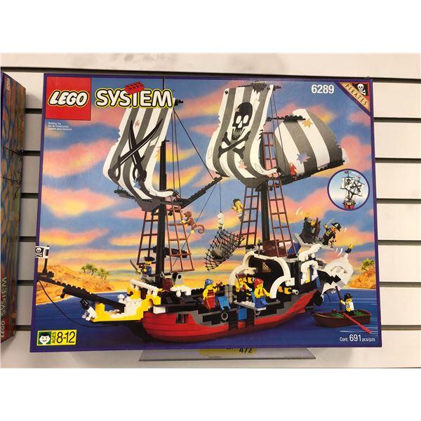 LEGO System 6289 Pirates Red Beard Runner 691 pcs. (NOS)